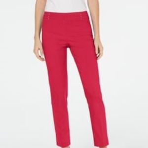 JM Collection Petite Studded Pull-On Pants NWT